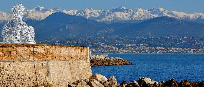 Sight-seeing in the French Riviera from our campsite