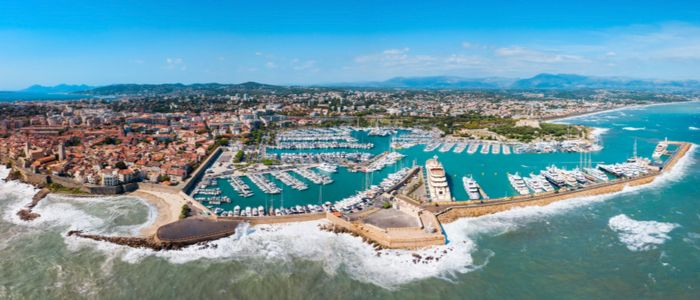 Cities in the French Riviera