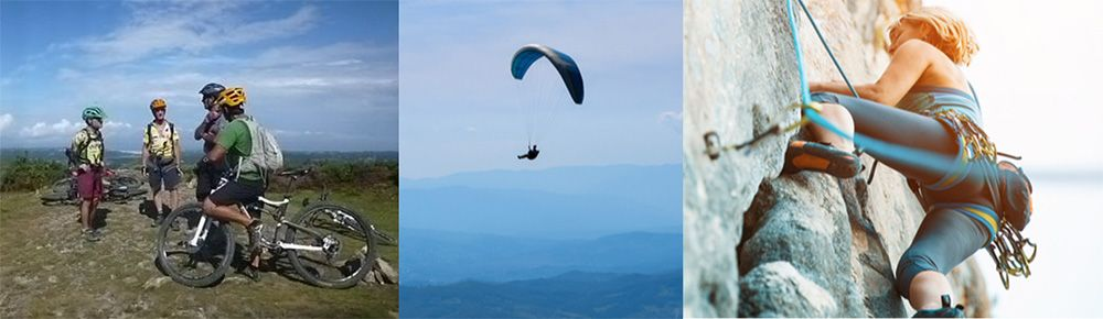 Activities in the mountains in the French Riviera